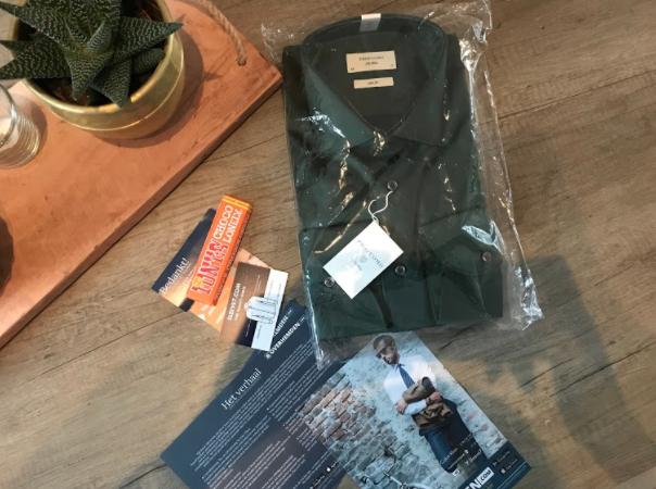 Review: een overhemd voor mijn man die niet van overhemden houd!