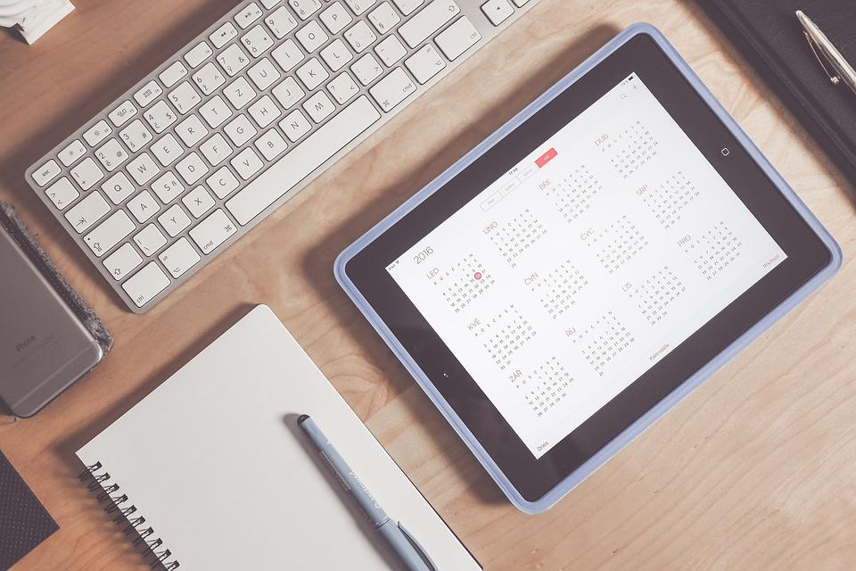 Content kalender voor bloggers