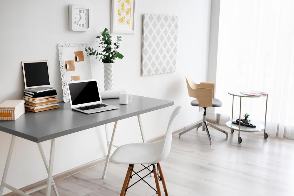 Tips voor het inrichten van een klein thuiskantoor