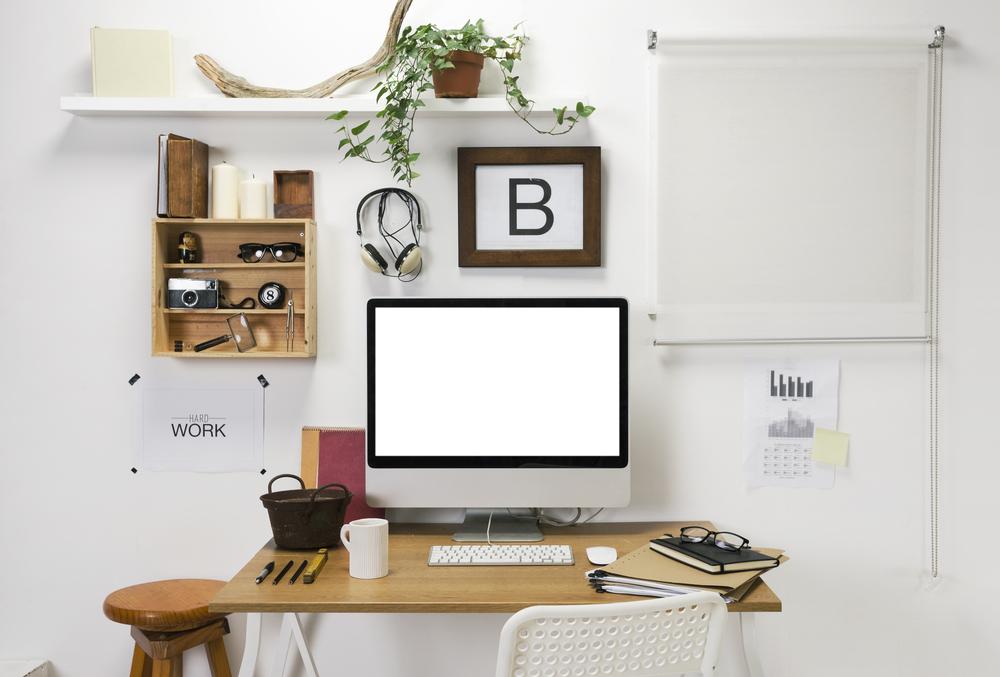 Een klein kantoor aan huis? Zo doe je de inrichting!