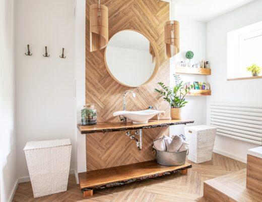 6 tips om je badkamer groter te laten lijken